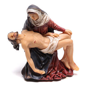 Statuette of Jesus removed from the cross in the arms of Mary 9 cm s1
