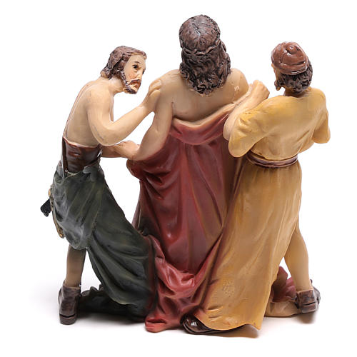 Jesus is stripped of his clothes 9 cm 4