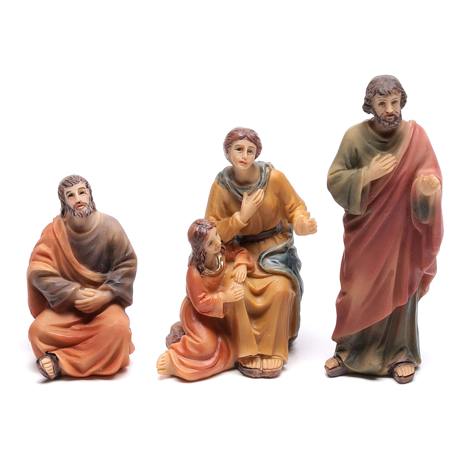 Escena del sermón de Jesús en el monte 9 cm 4