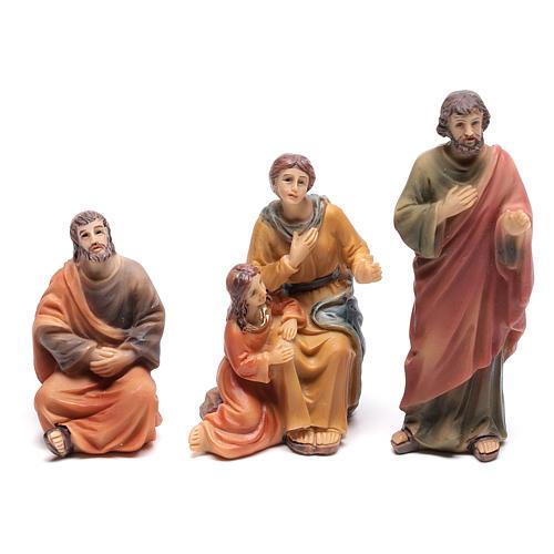 Escena del sermón de Jesús en el monte 9 cm 3