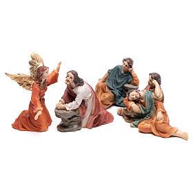 Imágenes de Resina y PVC: Escena pasión de Cristo Getsemani 9 cm