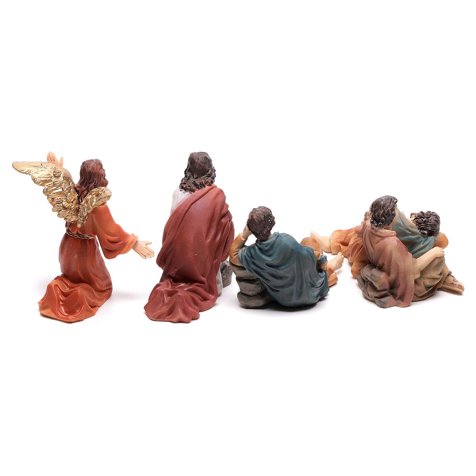 Scène passion de Christ Gethsémani 9 cm 4
