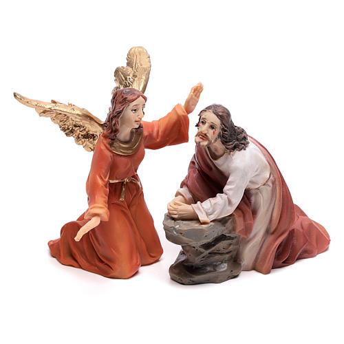 Scène passion de Christ Gethsémani 9 cm 2