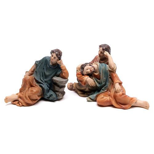 Scène passion de Christ Gethsémani 9 cm 3