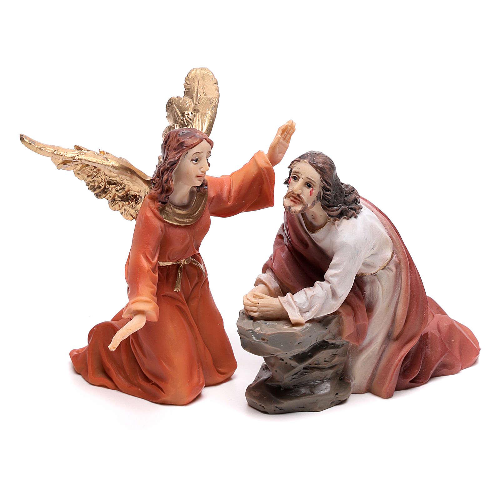 Scena passione di Cristo Getsemani 9 cm 4