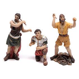 Scène passion de Jésus flagellation de Christ 9 cm s4