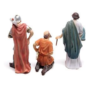 Escena pasión de Cristo coronación con espinas 9 cm s4