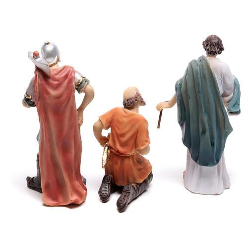 Escena pasión de Cristo coronación con espinas 9 cm 4