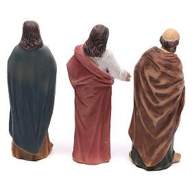Estatuas escena de Cristo recuperación de los paralizados 9 cm s5