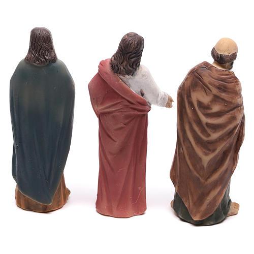 Estatuas escena de Cristo recuperación de los paralizados 9 cm 5