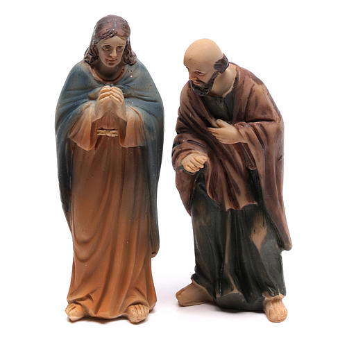 Scena vita di Cristo guarigione dei paralizzati 9 cm 3
