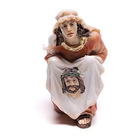 Scena passione di Cristo la salita al Calvario 9 cm s2