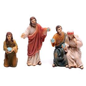 Scena vita di Gesù le nozze di Cana 9 cm s3