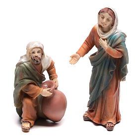 Scena vita di Gesù le nozze di Cana 9 cm s5