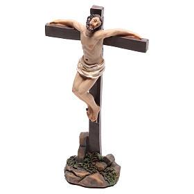 Santons des deux voleurs sur la croix 9 cm s2