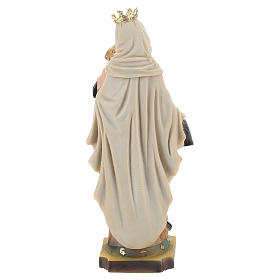 Hand painted resin statue of Our Lady of Mount Carmel 14.5 cm.  s5