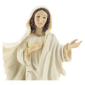 Virgen de Medjugorje 22 cm s2