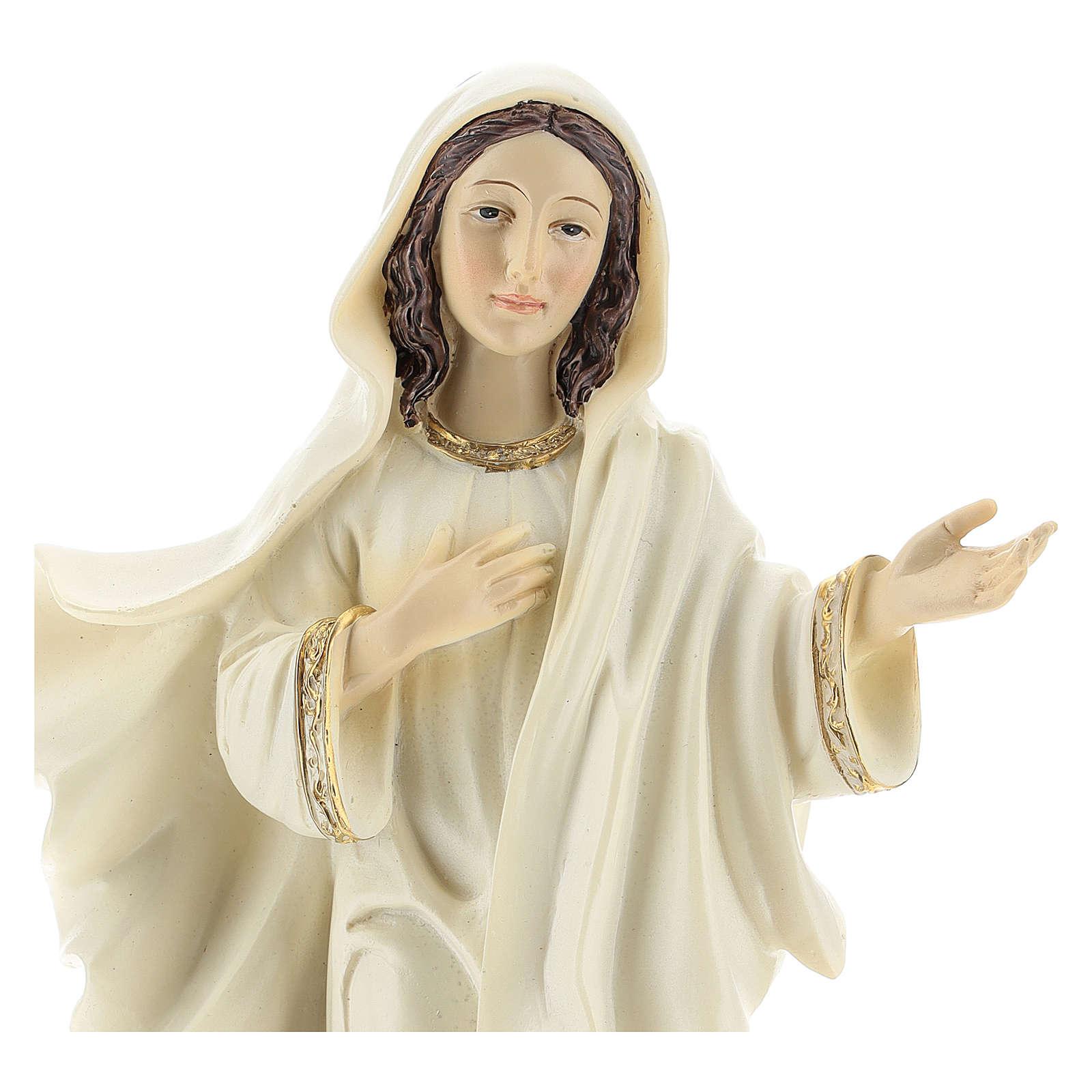 Madonna di Medjugorje 22 cm 4