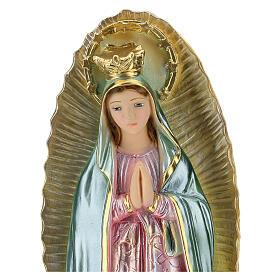 Notre-Dame de Guadalupe 40 cm plâtre nacré s2