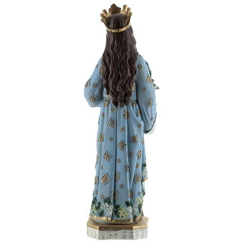 Statua Santa Lucia di Siracusa resina 30 cm 5