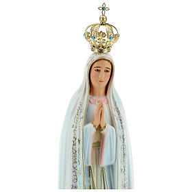 Fatima statue in hollow resin 85 cm hand painted s2