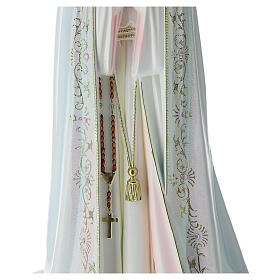 Our Lady of Fatima statue in hollow resin hand painted 100 cm s3