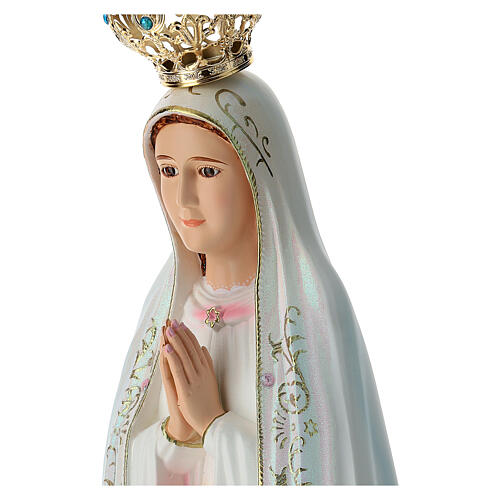 Our Lady of Fatima statue in hollow resin hand painted 100 cm 6