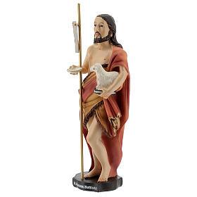 St. John the Baptist resin statue 15 cm