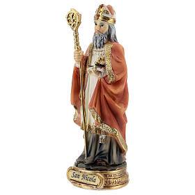 St. Nicholas of Bari resin statue 12.5 cm