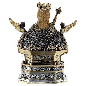 Santa Ágata busto resina coloreada 10x10x5 cm s4