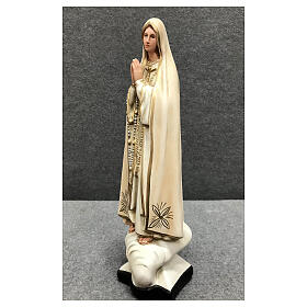 Our Lady of Fatima statue 30 cm in painted resin s3