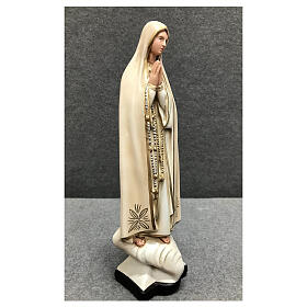 Our Lady of Fatima statue 30 cm in painted resin s4