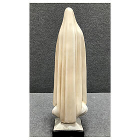 Our Lady of Fatima statue 30 cm in painted resin s5