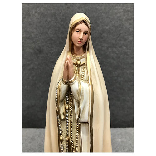 Our Lady of Fatima statue 30 cm in painted resin 2