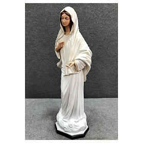Our Lady Queen of Peace statue cloud base 40 cm painted resin s3