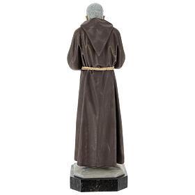 Statue Saint Pio 60 cm colorée en résine s6