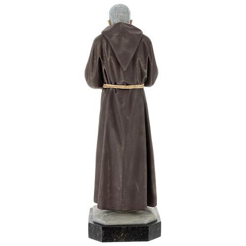 Statue Saint Pio 60 cm colorée en résine 6