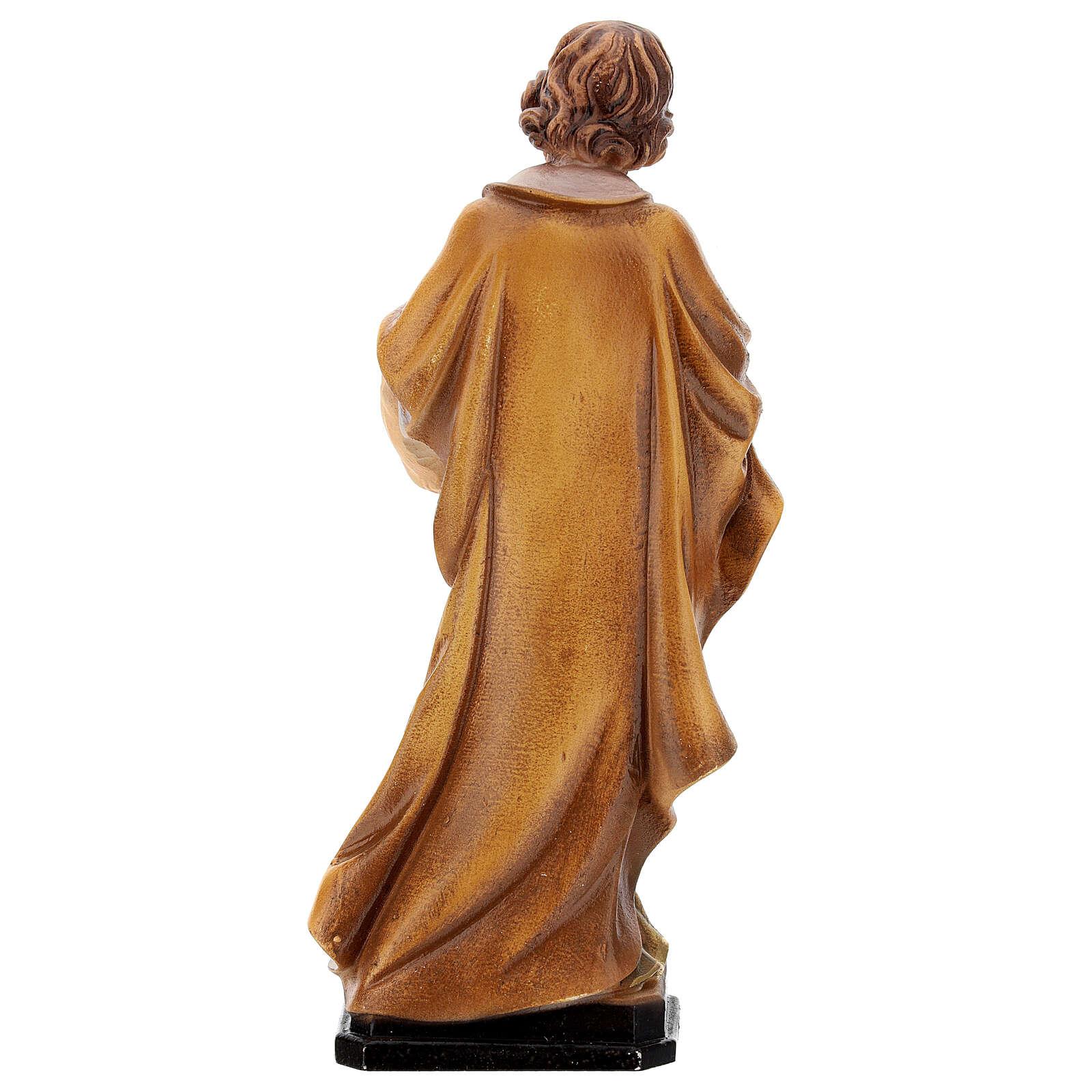 Estatua resina San José 20 cm 4