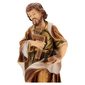 Estatua resina San José 20 cm s2