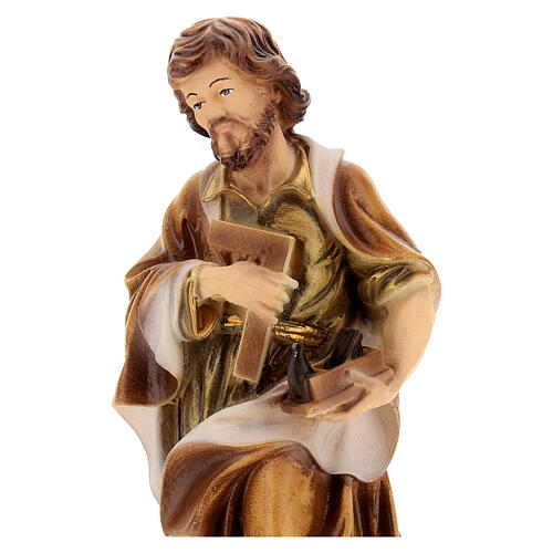 Estatua resina San José 20 cm 2