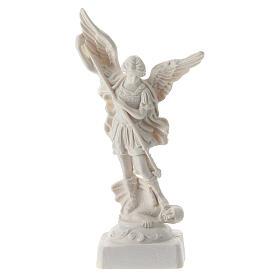 Estatua San Miguel 13 cm resina s1