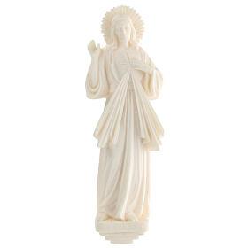 Estatua resina Jesús Misericordioso blanca 21 cm s1