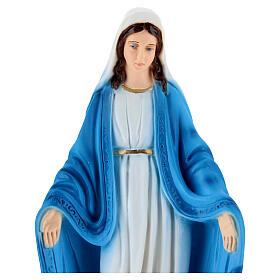 Estatua Virgen Milagrosa pintada mano 30 cm s2