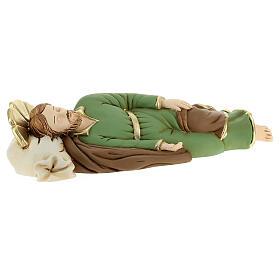 Estatua resina San José que duerme 23 cm s4