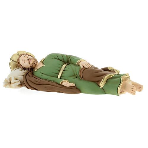 Estatua resina San José que duerme 23 cm 3
