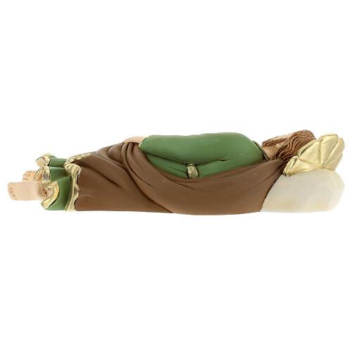 Estatua resina San José que duerme 23 cm 5