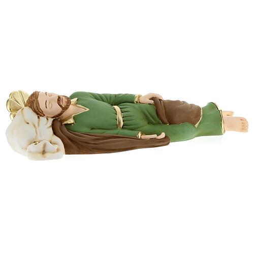Estatua San José que duerme resina 36 cm 3