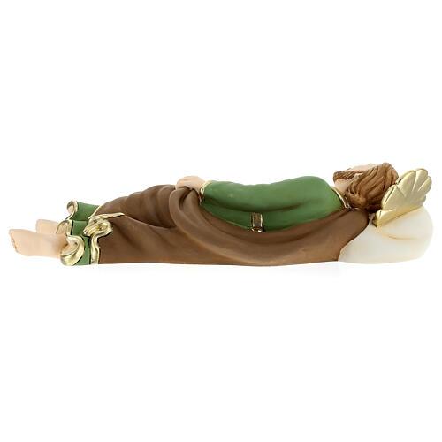 Estatua San José que duerme resina 36 cm 5