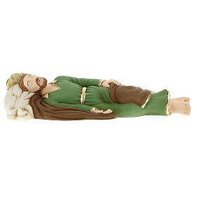 Statua San Giuseppe dormiente resina 36 cm