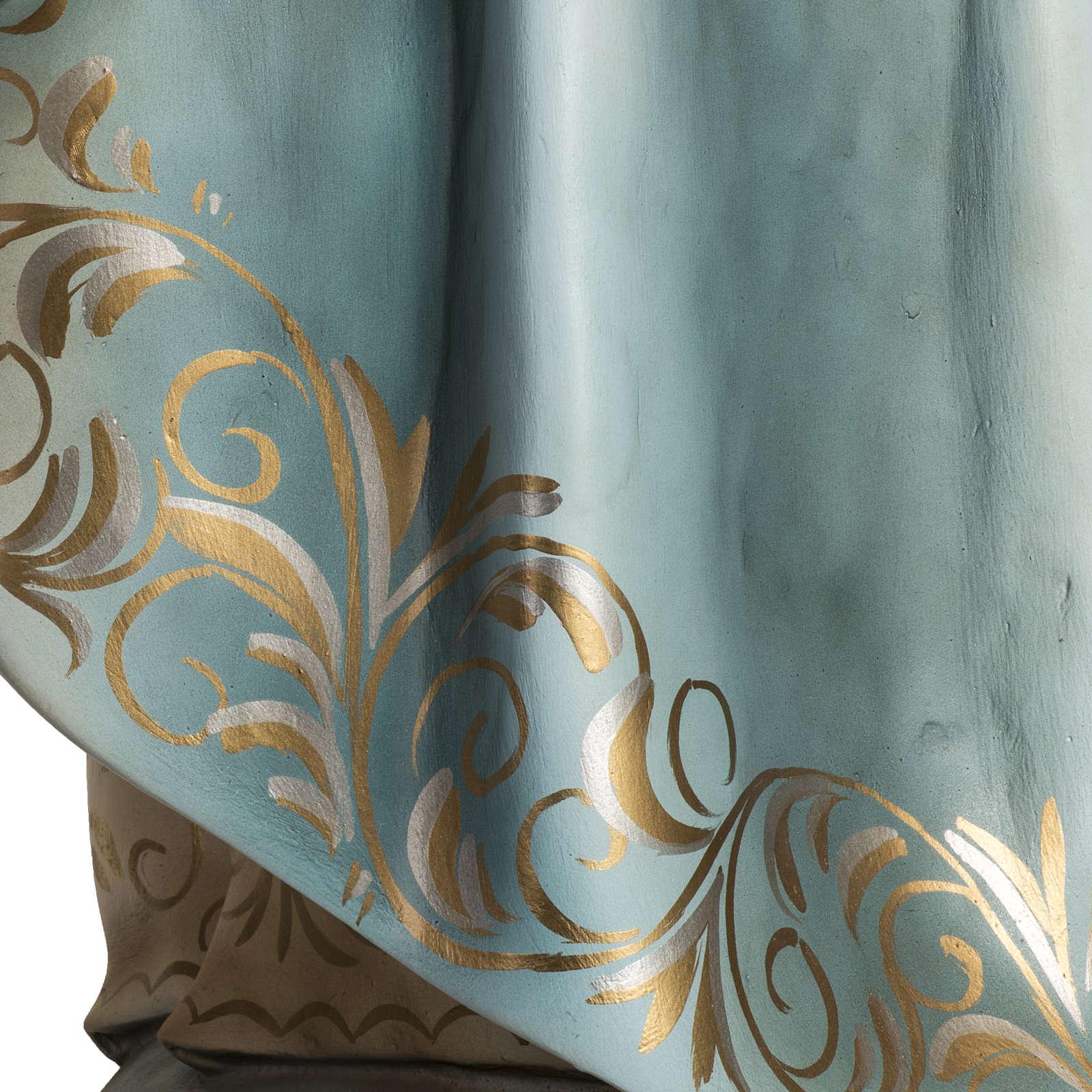 Miracolosa cm 100 pasta di legno occhi cristallo dec. elegante 4